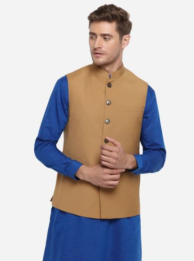 Light Brown Modi Jacket | JadeBlue